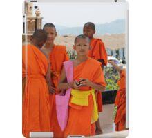 Buddhist monks iPad Case/Skin