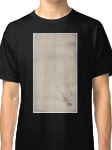 Civil War Maps 1932 An unfinished drawing of the battle of Fredericksburg Saturday December 13 1862 Classic T-Shirt