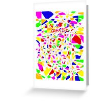 Elementary/Primary school paint professional Greeting Card