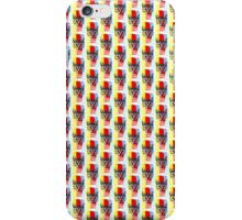 Cat with Primary Colors iPhone Case/Skin