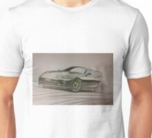 Toyota Supra Drifting by Glens Graphix Unisex T-Shirt