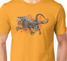 Big Toothed Dragon With Blood Unisex T-Shirt