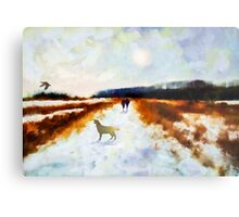 Broadland walk'... Metal Print