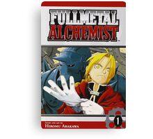 Fullmetal Alchemist Canvas Print