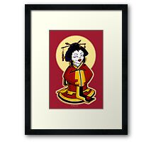 Little Geisha Framed Print