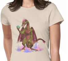 Crystal Dragon  Womens Fitted T-Shirt