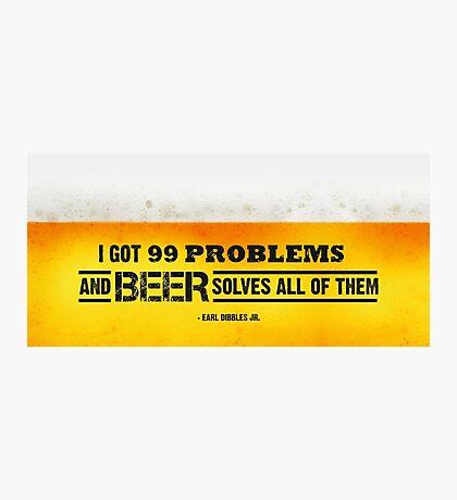 Beer Photographic Print