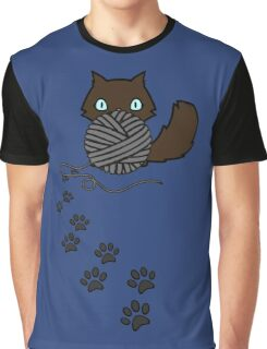 Playful kitty Graphic T-Shirt
