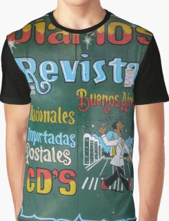 Nespapers, magazines 2, Buenos Aires Graphic T-Shirt