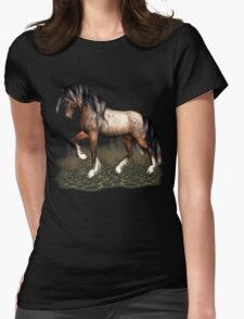 Appaloosa Mustang  Womens Fitted T-Shirt