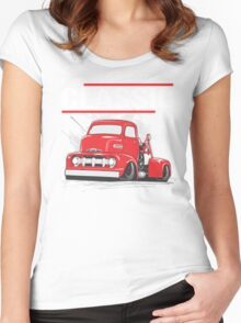 FORD CLASSIC F5 WRECKER Women's Fitted Scoop T-Shirt