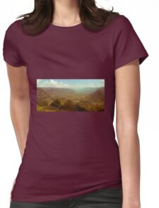 Feeling like in the far west Womens Fitted T-Shirt