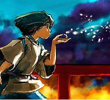 Haku - Spirited Away by alakaprazolam