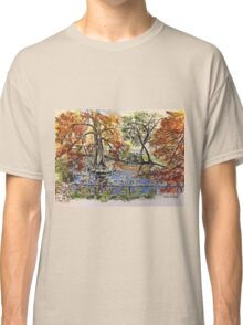 The Orto Botanico from the Lucca wall 2015 Classic T-Shirt
