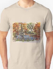 The Orto Botanico from the Lucca wall 2015 T-Shirt