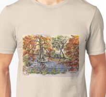 The Orto Botanico from the Lucca wall 2015 Unisex T-Shirt