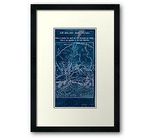 Civil War Maps 1908 War maps and diagrams 02 Inverted Framed Print