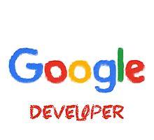 Crayon Google Developer Photographic Print