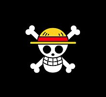 One Piece Pirate Flag Monkey D. Luffy Roronoa Zoro Nami Usopp Sanji Tony Tony Chopper Nico Robin Franky Brook by GamersUnitedUK