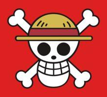 One Piece Pirate Flag Monkey D. Luffy Roronoa Zoro Nami Usopp Sanji Tony Tony Chopper Nico Robin Franky Brook Kids Tee