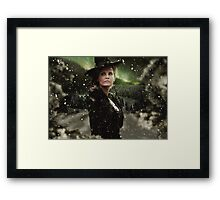 OUAT Holidays 2015 - The Wicked Witch Framed Print
