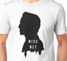 Sherlock Holmes Jim Moriarty Miss me Unisex T-Shirt
