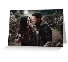 OUAT Holidays 2015 - Outlaw Queen Greeting Card