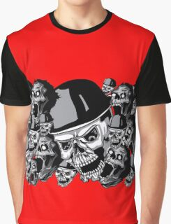 Zombies in black and white collage Graphic T-Shirt