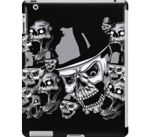Zombies in black and white collage iPad Case/Skin