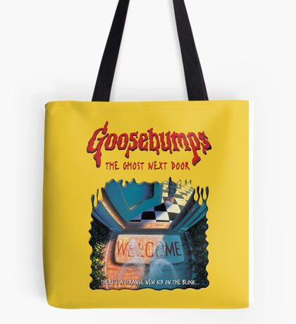 the ghost next door goosebumps Tote Bag
