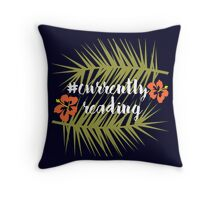#CurrentlyReading - Hawaii Throw Pillow