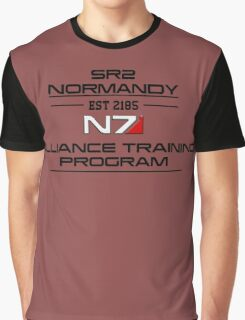 Mass Effect - N7 Training Shirt Graphic T-Shirt
