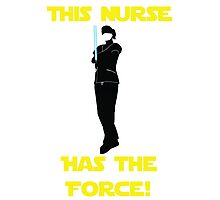 Nurse with the Force Photographic Print