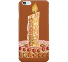 Strawberry cake for Christmas iPhone Case/Skin
