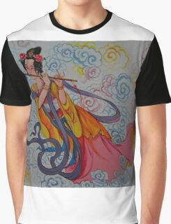 flute Graphic T-Shirt