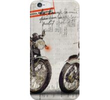 Triumph Bonneville T100 - T120 iPhone Case/Skin