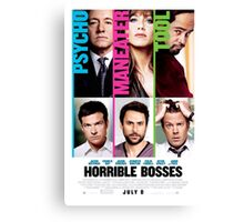 Movie Poster Merchandise Canvas Print