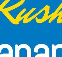 Chiquita Rush Banana Sticker