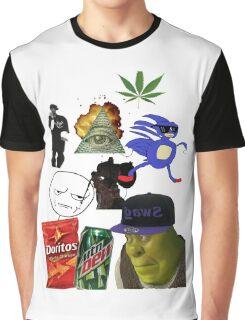 Dank MLG funny MEME Graphic T-Shirt