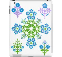 Flower cross  iPad Case/Skin