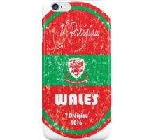 Euro 2016 Football - Wales iPhone Case/Skin