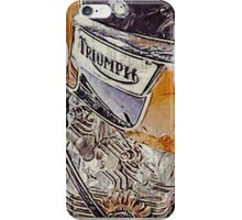 Triumph Bonneville T120 1971 iPhone Case/Skin