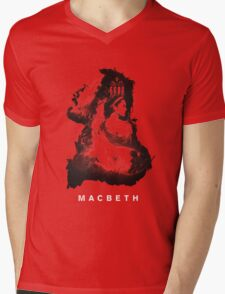 Macbeth Story Mens V-Neck T-Shirt