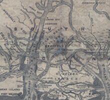 Civil War Maps 1908 War maps and diagrams 02 Sticker
