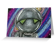 Marvin the Paranoid Android  Greeting Card