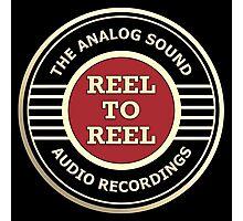 Wonderful Reel To Reel Audio Recording Photographic Print