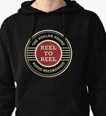 Wonderful Reel To Reel Audio Recording Pullover Hoodie