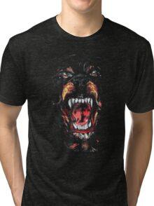 Givenchy Rottweiler Dog Tri-blend T-Shirt