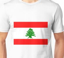 Flag of Lebanon Unisex T-Shirt