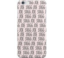 Joe Sugg x 1000 In Pastel Pink iPhone Case/Skin
